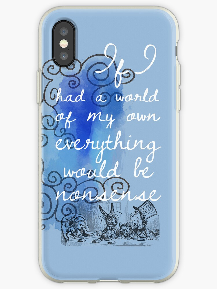 info for a8f22 3ab14 'Alice in Wonderland iPhone Case' iPhone Case by Alexandra Grant