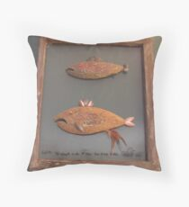 "Windows are fish to the sole 5 of 13. 23"" x 28"" $300.00 for original Throw Pillow"
