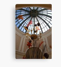 Hotel Glass Art Canvas Print