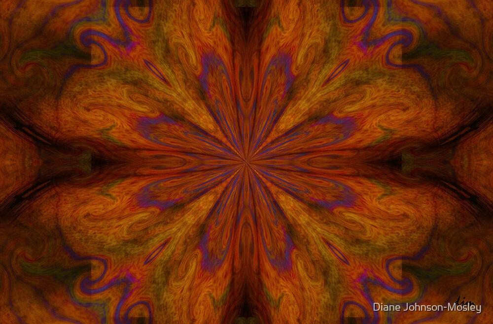 Cirque ___Kaleidoscope Card  by Diane Johnson-Mosley