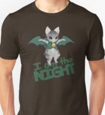 Gaelikitten - I am the NIGHT (green) Unisex T-Shirt