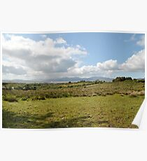 Rain on Dingle Bay, Sun in the Meadow Poster