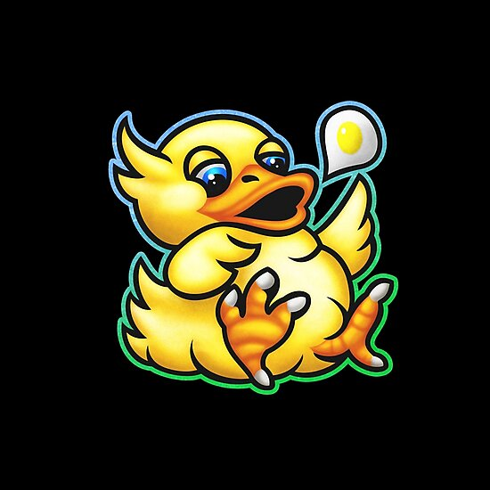 Fat Chocobo by likelikes