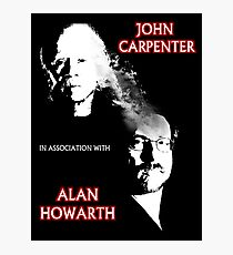 John Carpenter In Association With Alan Howarth Photographic Print