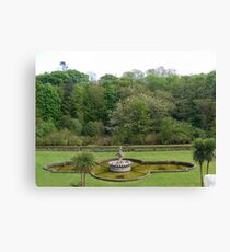 Fountain at Culzean Canvas Print