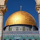 Dome of the Rock, Jerusalem by johnnabrynn