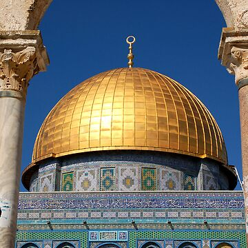 Dome of the Rock, Jerusalem by johnnabrynn