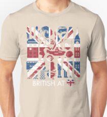 British @ Heart Unisex T-Shirt