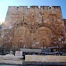 Eastern Gate, Jerusalem by johnnabrynn