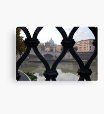 Italian Gate Canvas Print