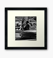 what's the big issue? Framed Print