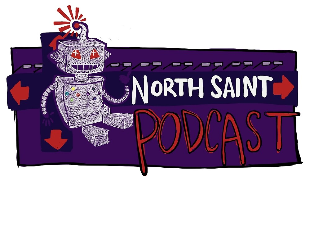 North Saint Podcast Logo by northstpodcast