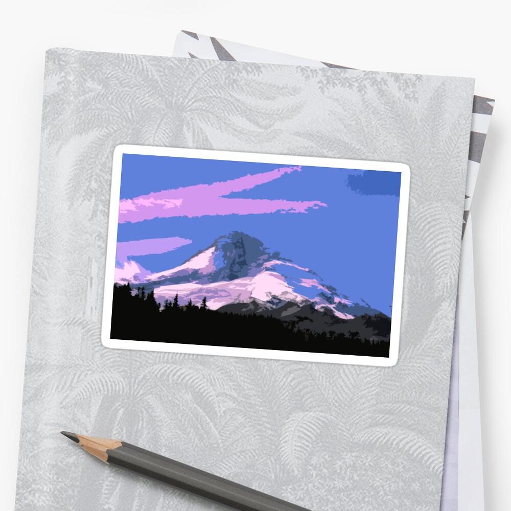 Mt. Hood Art by Leighanna Murray