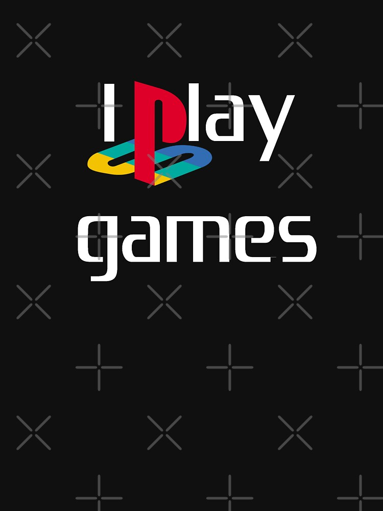 I play Games - White text by BecsPerspective