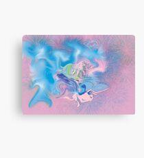 """Pink Spasms"" Canvas Print"