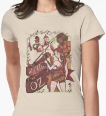 The Wizard of Oz {REMIX} Women's Fitted T-Shirt