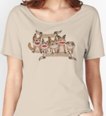 Loth Cats Against Imperialism Relaxed Fit T-Shirt