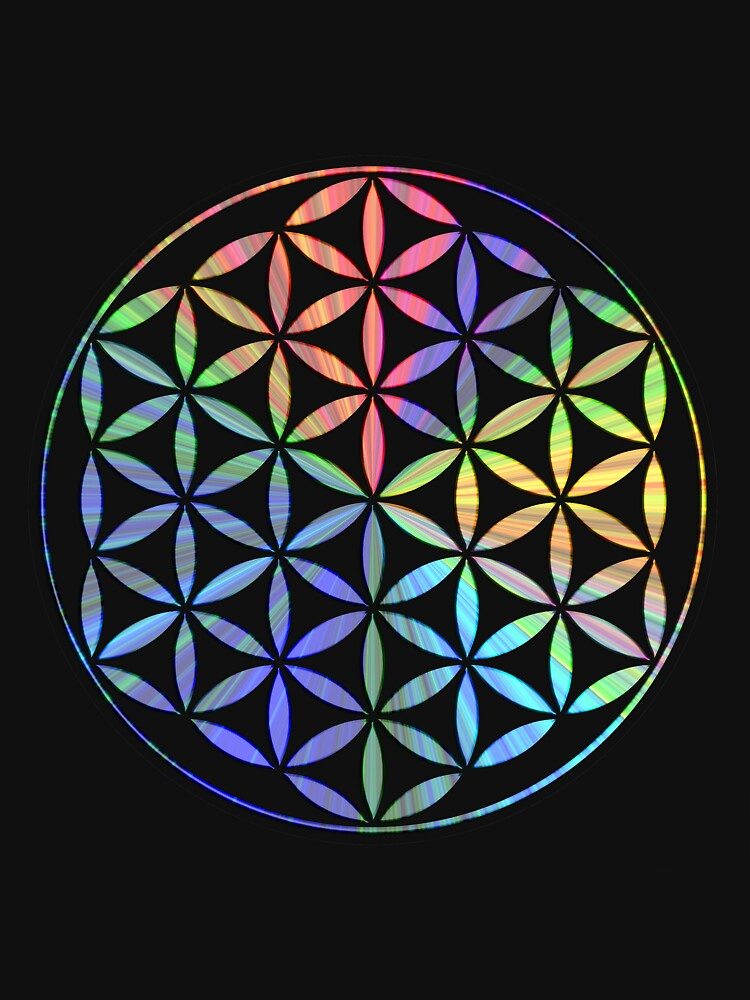 Flower of Life - Multi-Colour by rescl