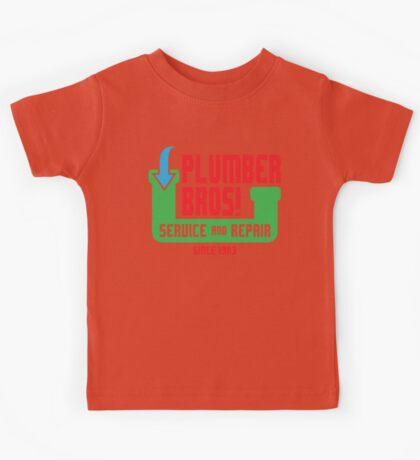 PLUMBER BROS! Kids Clothes