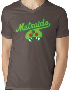 THE METROIDS Mens V-Neck T-Shirt