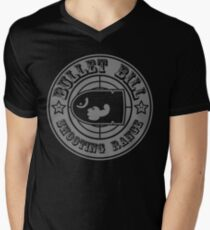 BULLET BILL SHOOTING RANGE Men's V-Neck T-Shirt