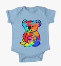 Colorful Koala One Piece - Short Sleeve