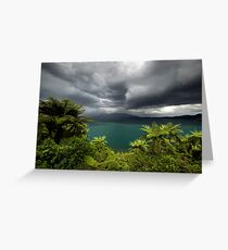 Massive storm about to hit Rotorua Greeting Card