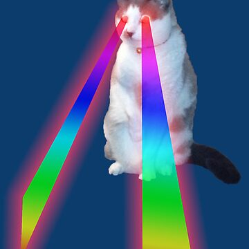 Lazer Kitteh by Mhayes1048