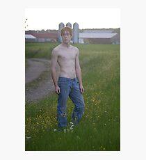 Zach at Dusk Photographic Print