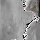 woman with a fan by Loui  Jover