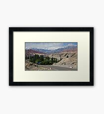 Karakoram Highway Framed Print