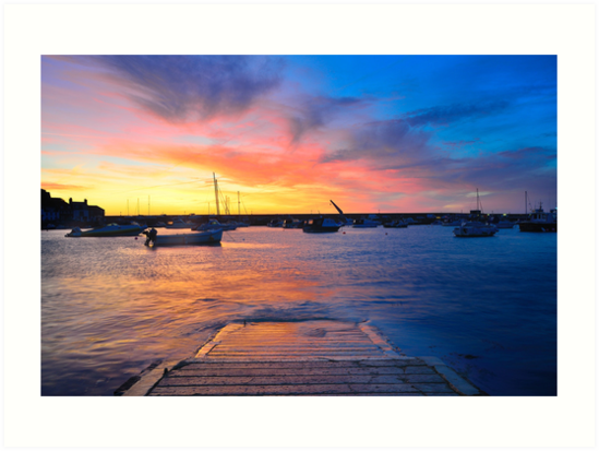 Gorey Harbour II by Mark Bowden