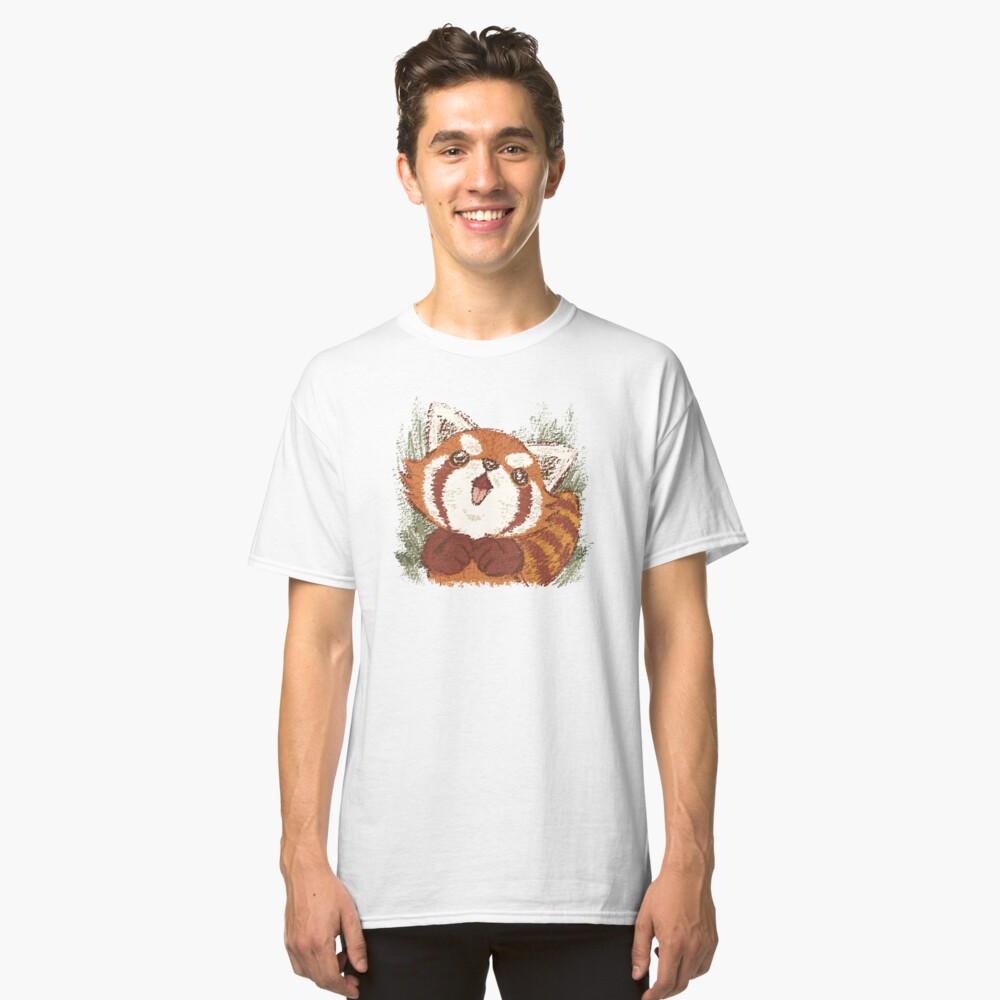 Joy of Red panda Camiseta clásica