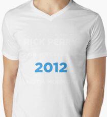 Rick Perry 2012 - Not a Mormon Mens V-Neck T-Shirt