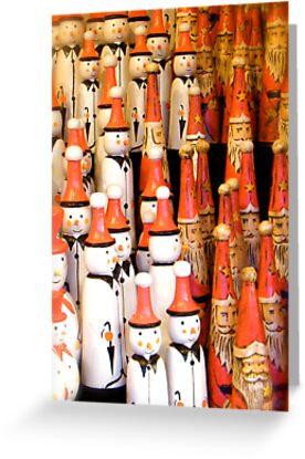Snowmen and Santas Clauses by Robert Steadman