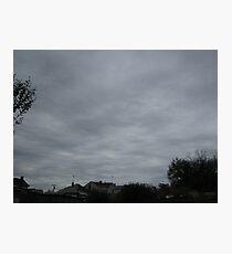 November Skies 3 Photographic Print