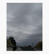 November Skies 4 Photographic Print
