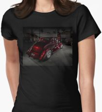 Norm Corte's 1934 Ford Coupe Womens Fitted T-Shirt