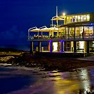 Currumbin SLSC by night by flexigav