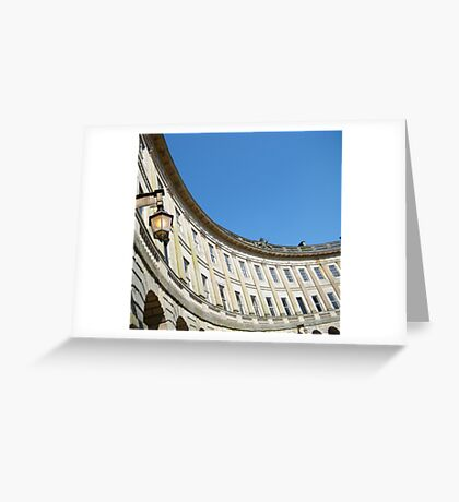 Royal Crescent, Buxton Greeting Card