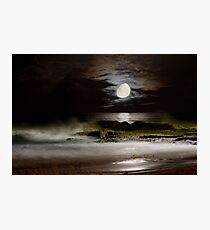 Luna Coastscape Photographic Print