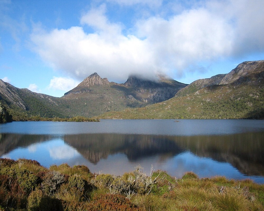 Cradle Mountain reflections. Tasmania Australia by cschurch