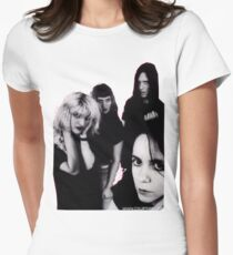hole tshirt Women's Fitted T-Shirt