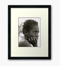 Stay Hungry Part Seven. Framed Print