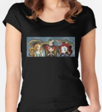 Tea Party Women's Fitted Scoop T-Shirt