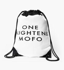 ONE ENLIGHTENED MOFO Drawstring Bag
