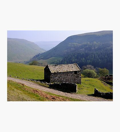 Old Barn, Swaledale - The Yorkshire Dales Photographic Print