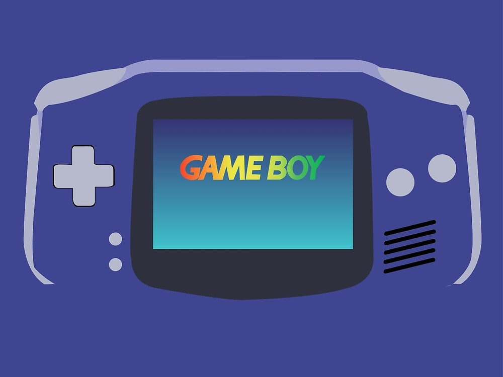 Minimalist Gameboy by noahthewiseguy