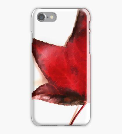 red autumn - iphone cover iPhone Case/Skin