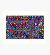Mandelbulb Abstract Art Print